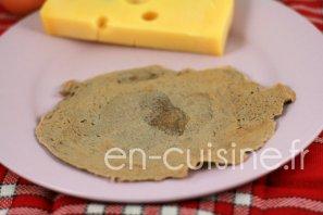 Recette pâte pour galettes à la farine de blé noir au Thermomix