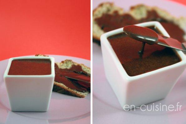 Recette pâte à tartiner chocolat caramel au Thermomix