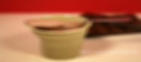 Recette crèmes dessert au chocolat caramel façon Danette au Thermomix