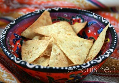 Recette chips de maïs allégées au Thermomix