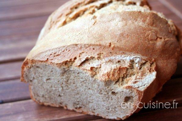 Recette pain à la farine de sarrasin au Thermomix