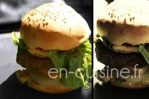Recette hamburgers maison au Thermomix