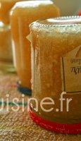 Recette confiture poire vanille à l'agar-agar au Thermomix