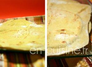 Recette tortillas de blé maison au Thermomix