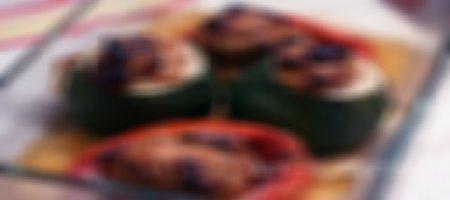 Recette farce pour légumes porc et boeuf au Thermomix