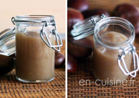 Recette crème de marrons vanillée maison au Thermomix