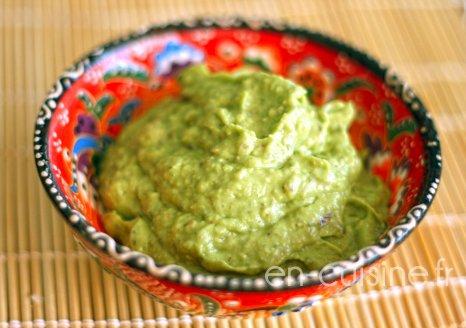 Recette guacamole au Thermomix