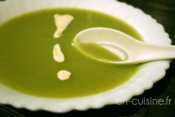 Recette velout de poireaux et pommes de terre au thermomix en cuisine - Recette soupe thermomix ...