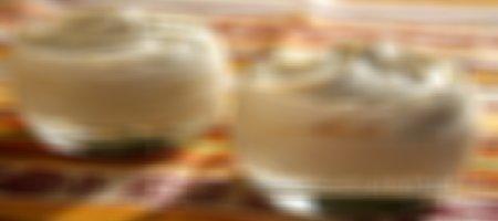 Recette mousses à la crème de marrons au siphon