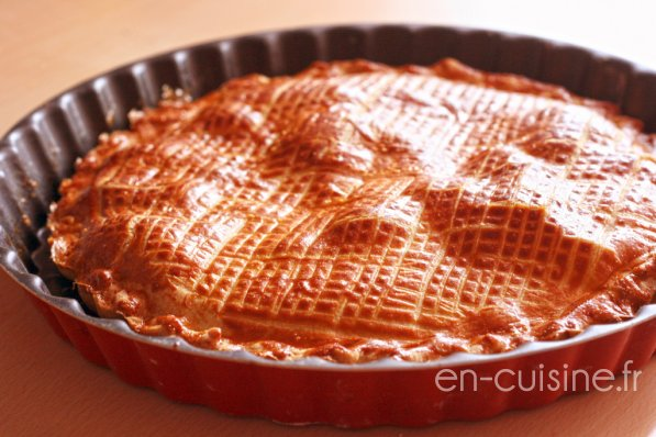 Recette galette des rois frangipane à la crème pâtissière au Thermomix