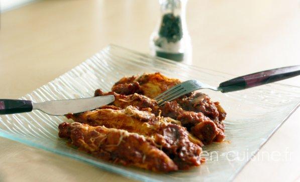 Recette quenelles de volaille maison et sauce tomate aux champignons au Thermomix