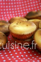 Recette financiers au citron au Thermomix