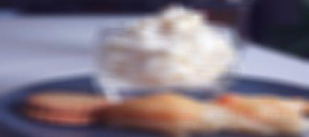 Recette poires caramélisées et mousse au mascarpone à la vanille au siphon et Thermomix