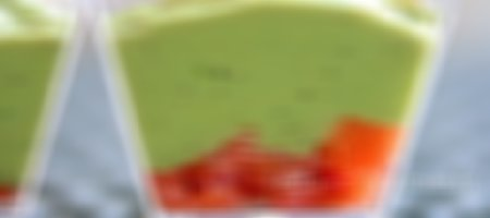 Recette verrines de guacamole et saumon fumé au Thermomix