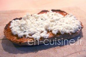 Recette tartinade de radis noir et fromage frais au Thermomix
