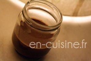 Recette flans chocolat à l'agar-agar au Thermomix