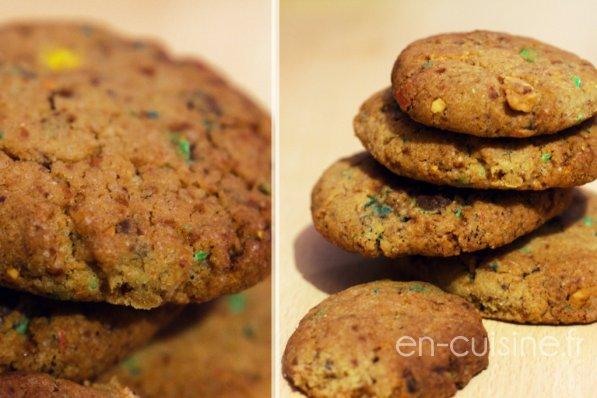 Recette cookies aux M&Ms au Thermomix
