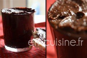 Recette pâte à tartiner maison chocolat amandes au Thermomix