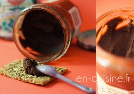 Recette pâte à tartiner chocolat marrons au Thermomix