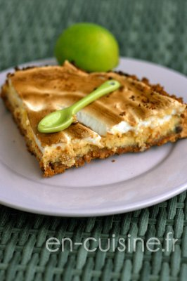 Recette key lime pie au Thermomix